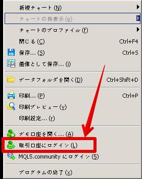 XMログインできないチャート画面解説2