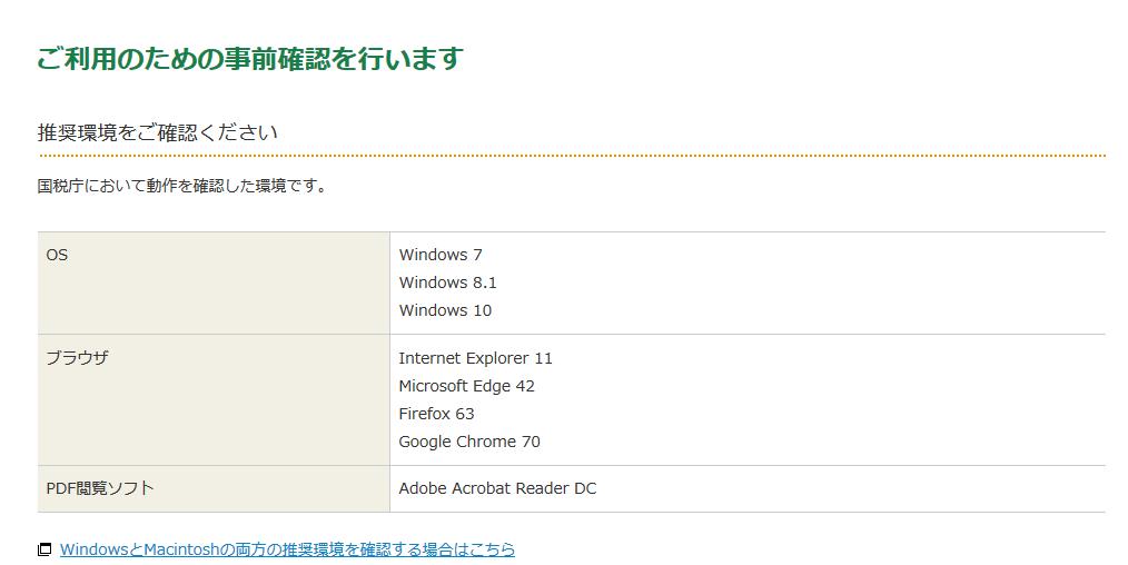 確定申告書 申請方法③